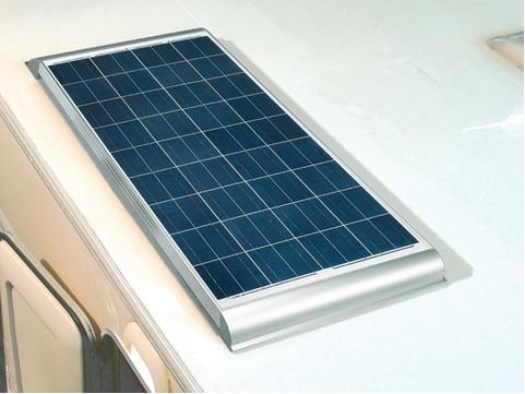 Solar panel on motorhome roof.jpg